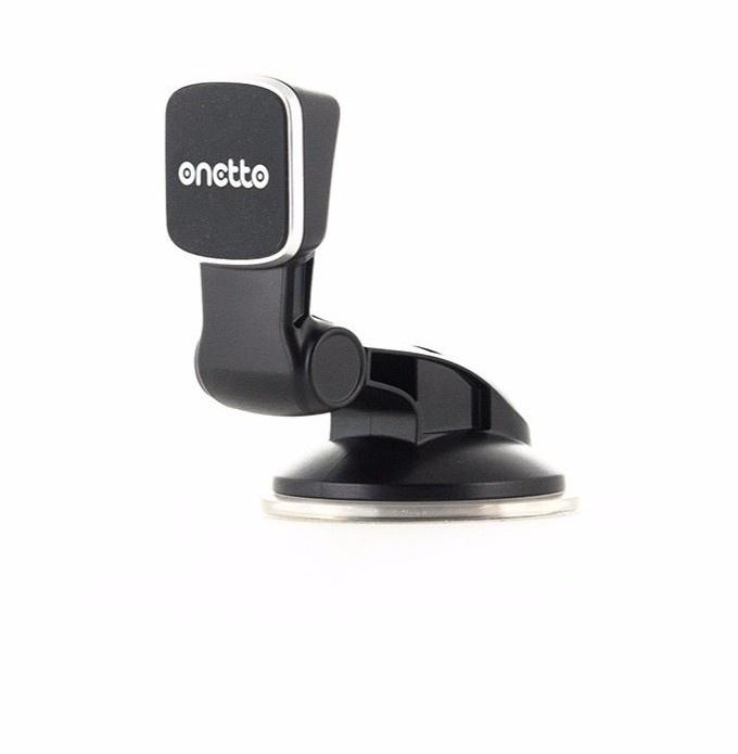 Автомобильный держатель ONETTO Easy Flex Magnet Suction Cup, черный держатель onetto easy flex magent suction cup mount gp2