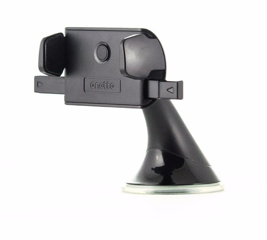 Автомобильный держатель ONETTO One Touch Mini, черный автомобильный держатель onetto one touch mini telescopic черный