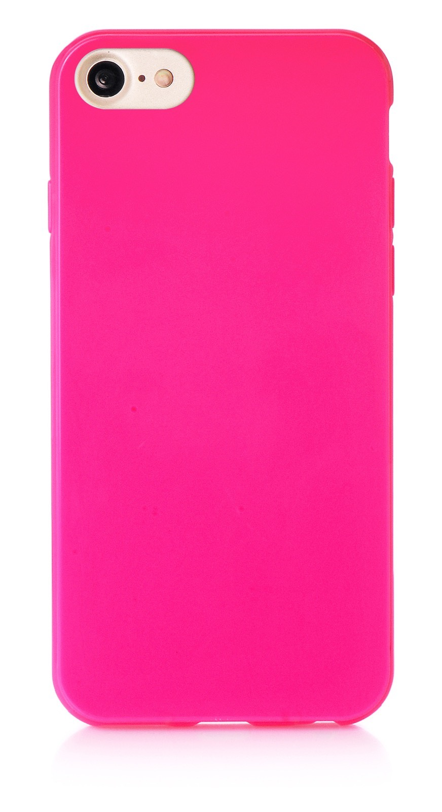 """Чехол для сотового телефона iNeez накладка силикон мыльница 901413 для Apple Iphone 7/8 4.7"""", темно-розовый"""