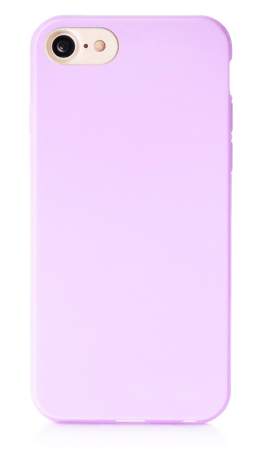 """Чехол для сотового телефона iNeez накладка силикон мыльница 900828 для Apple Iphone 7/8 4.7"""", сиреневый"""