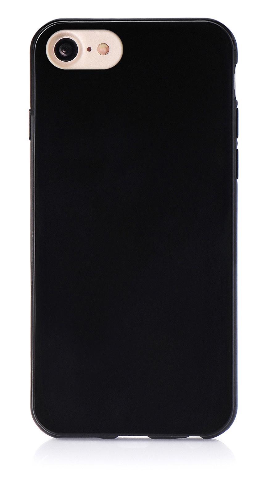 """Чехол для сотового телефона iNeez накладка силикон мыльница 900830 для Apple Iphone 7/8 4.7"""", черный"""