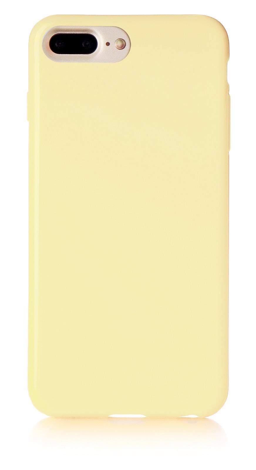 """Чехол для сотового телефона iNeez накладка силикон мыльница 901416 для Apple Iphone 7 Plus/8 Plus 5.5"""", светло-коричневый"""