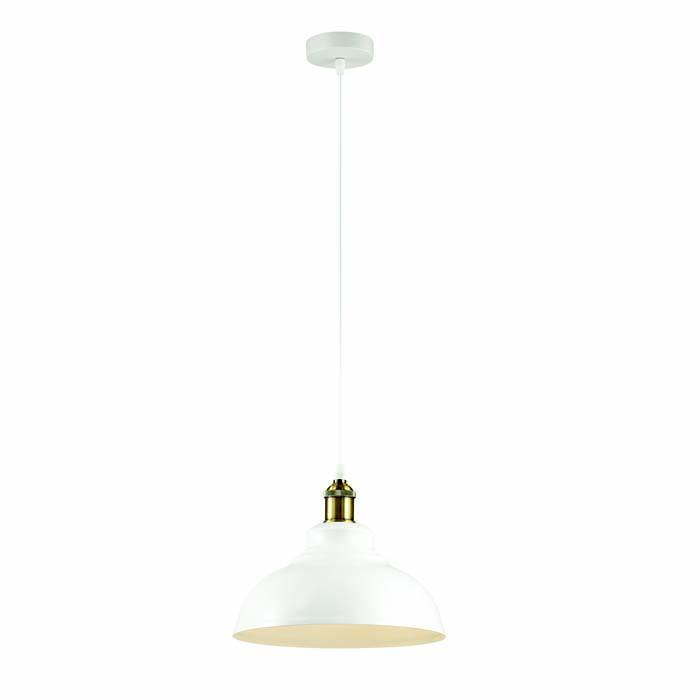 Подвесной светильник Odeon Light 3367/1, белый светильник подвесной n light лофт 129 01 36g globe