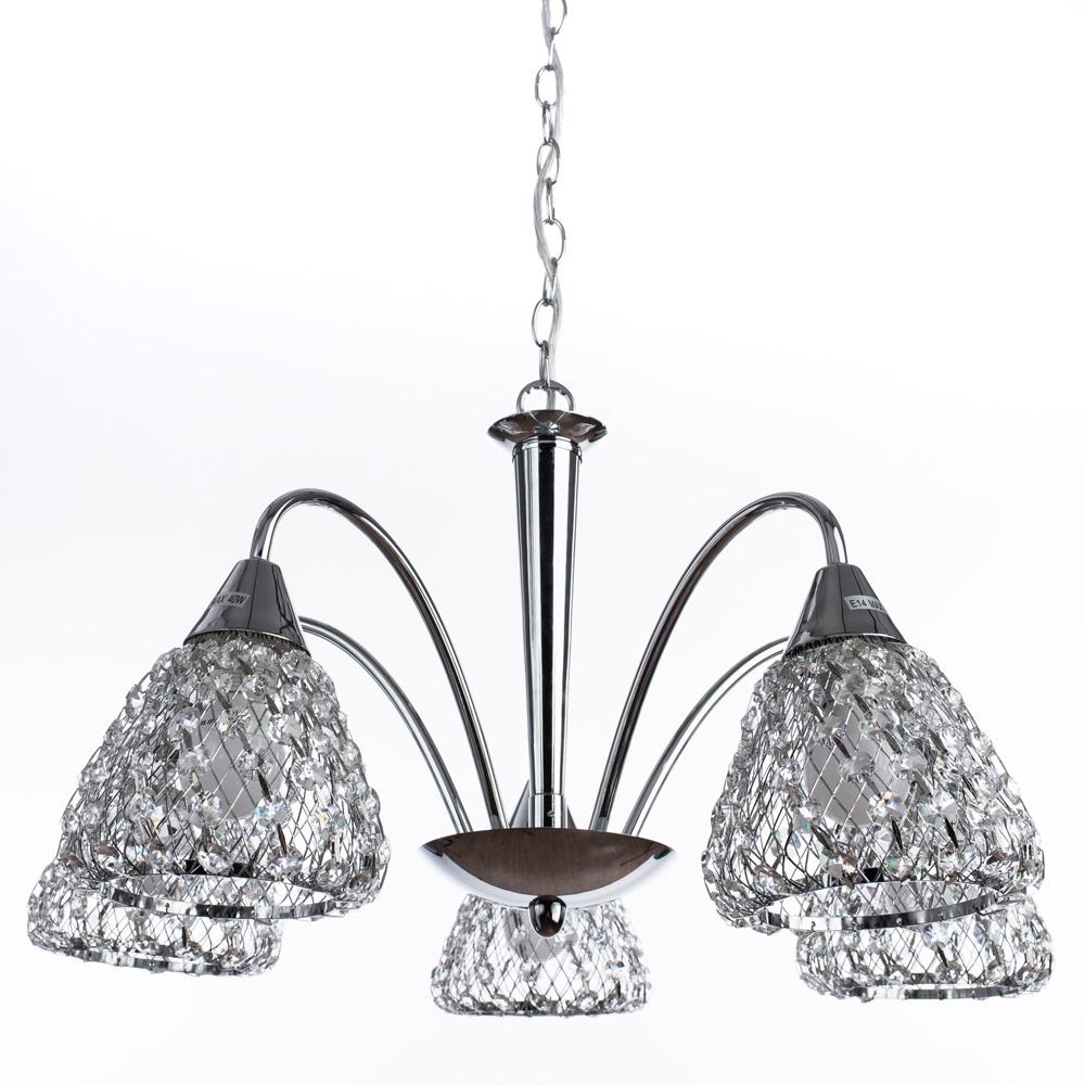 Подвесной светильник Arte Lamp A9466LM-5CC, E14, 40 Вт цена