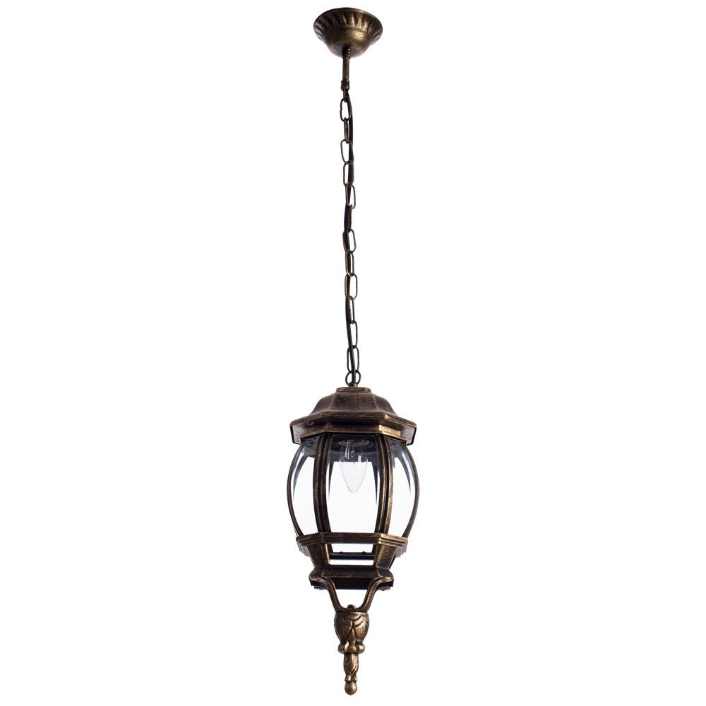 Уличный светильник Arte Lamp A1045SO-1BN, коричневый уличный подвесной светильник arte lamp genova a1205so 1bn