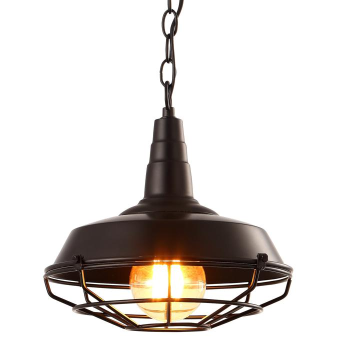 Подвесной светильник Arte Lamp A9181SP-1BK, черный цена 2017