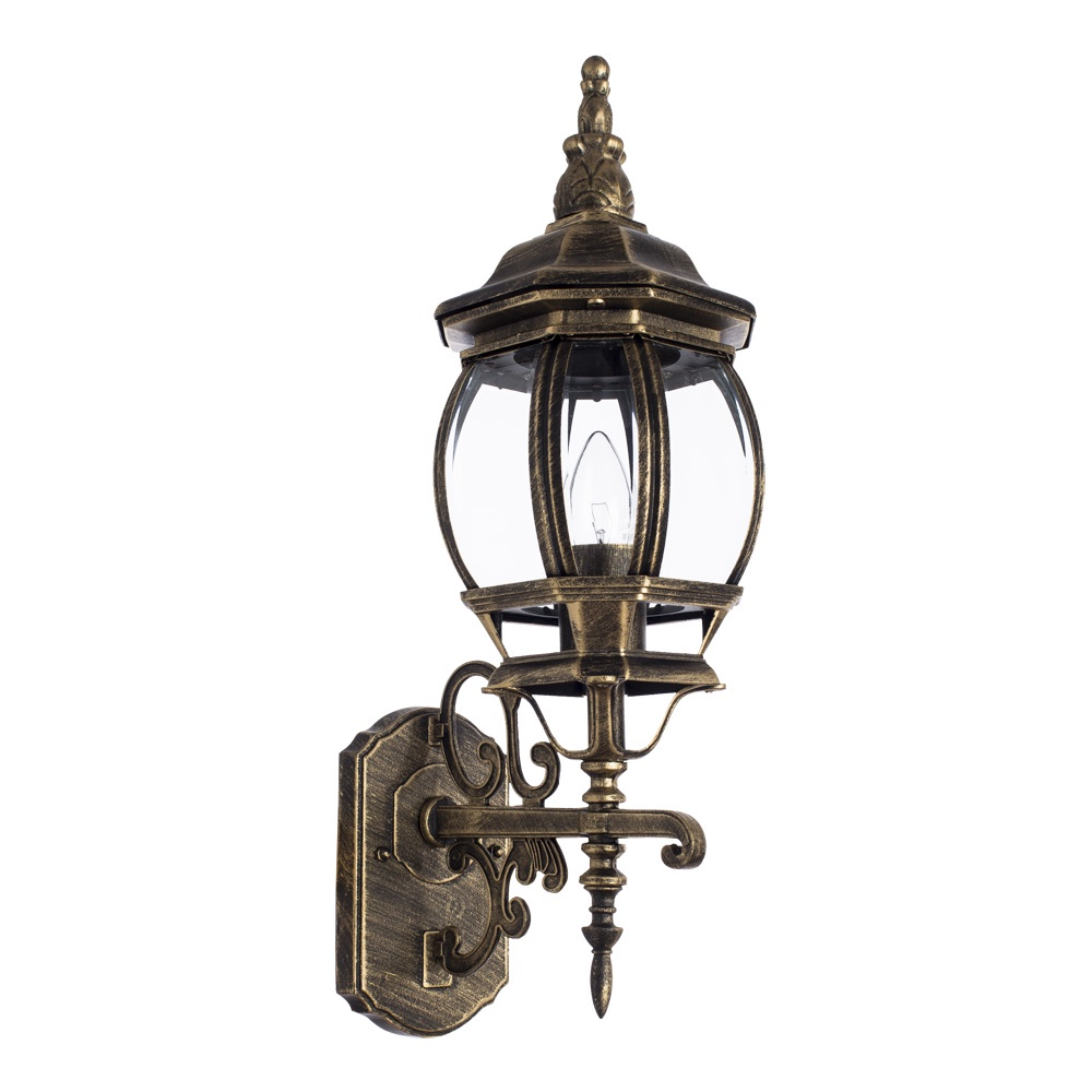 Уличный светильник Arte Lamp A1041AL-1BN, коричневый уличный подвесной светильник arte lamp genova a1205so 1bn