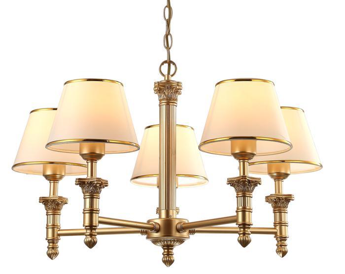 Подвесной светильник Arte Lamp A9185LM-5SG, E27, 40 Вт
