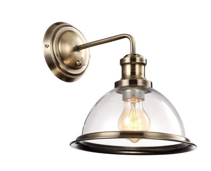 Бра Arte Lamp A9273AP-1AB, E27, 60 Вт