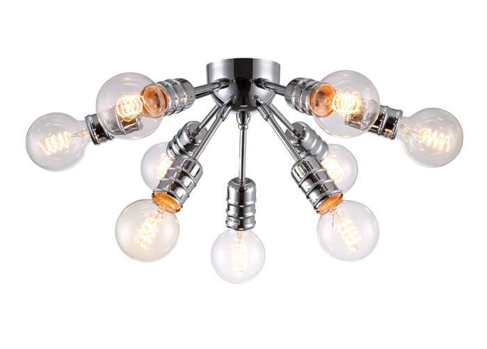 Потолочный светильник Arte Lamp A9265PL-9CC, E27, 60 Вт недорого