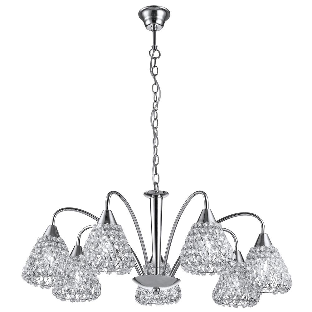 Подвесной светильник Arte Lamp A9466LM-7CC, E14, 40 Вт цена
