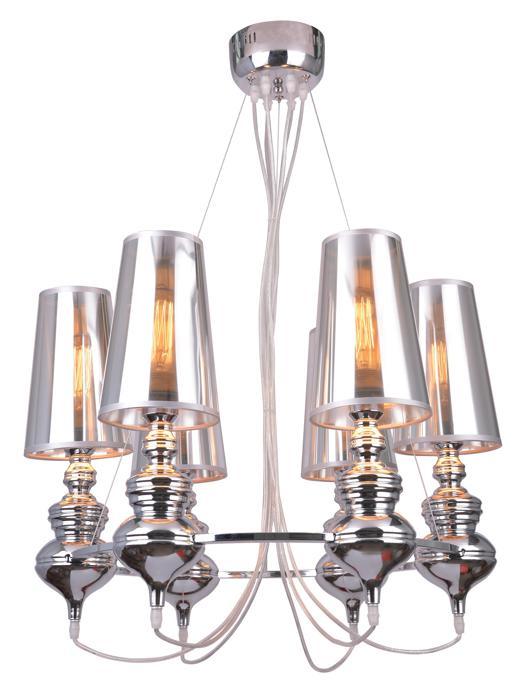 Подвесной светильник Arte Lamp A4280LM-6CC, серый металлик цена
