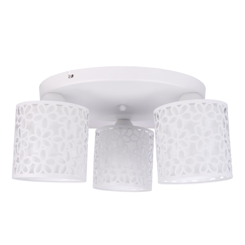 купить Потолочный светильник Arte Lamp A8349PL-3WH, E14, 40 Вт по цене 4950 рублей