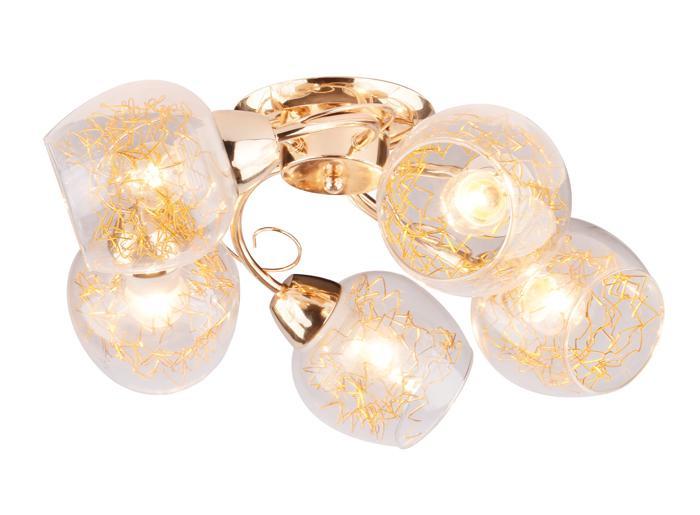Потолочный светильник Arte Lamp A5006PL-5GO, E27, 40 Вт все цены
