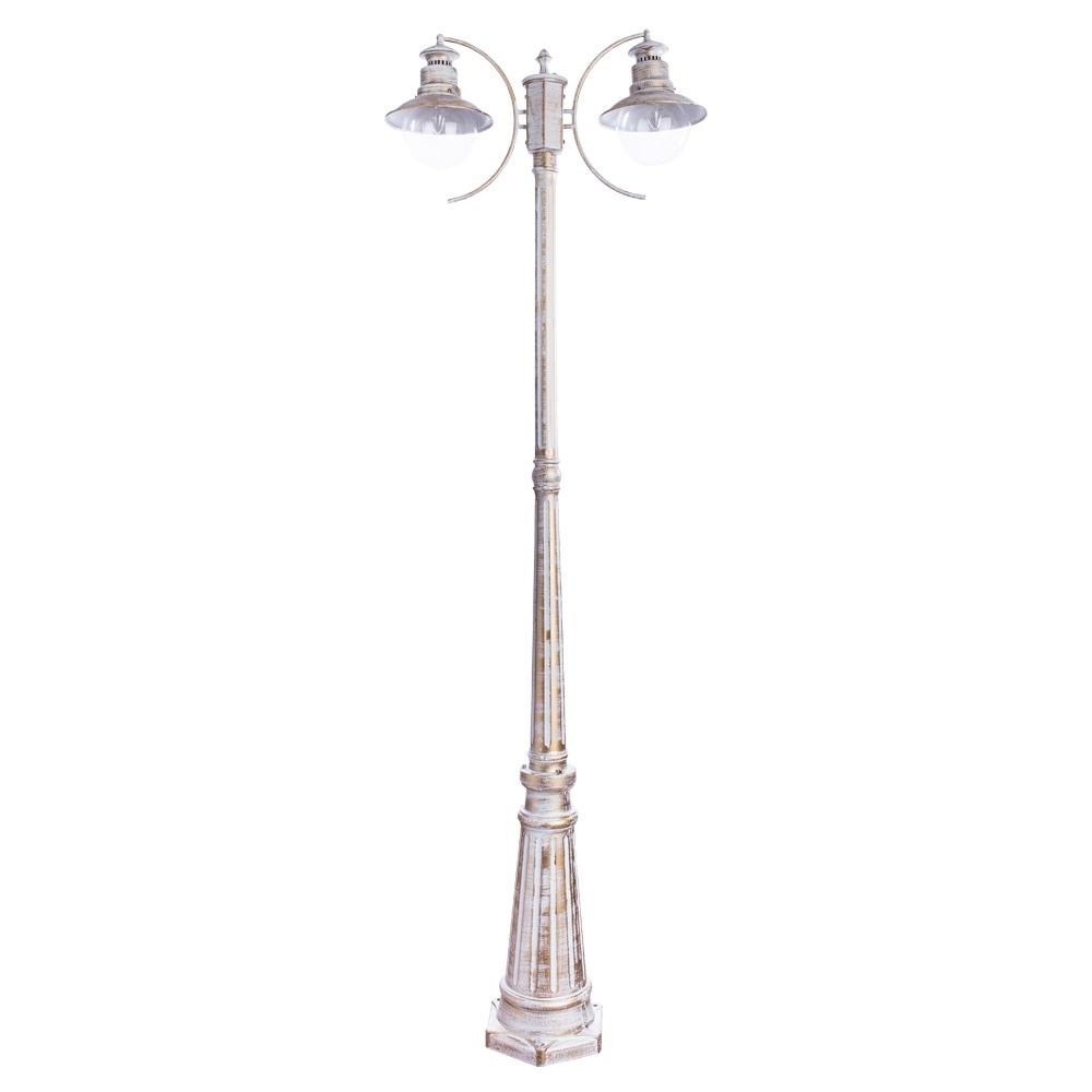 Уличный светильник Arte Lamp A1523PA-2WG, E27 уличный светильник arte lamp amsterdam a1523pa 1wg