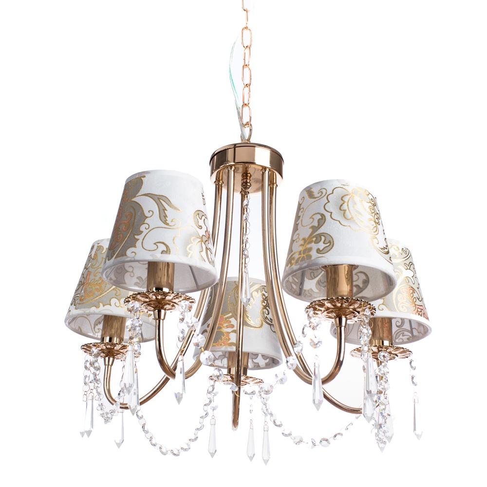 Подвесной светильник Arte Lamp A5008LM-5GO, золотой arte lamp подвесная люстра arte lamp armonico a5008lm 5go