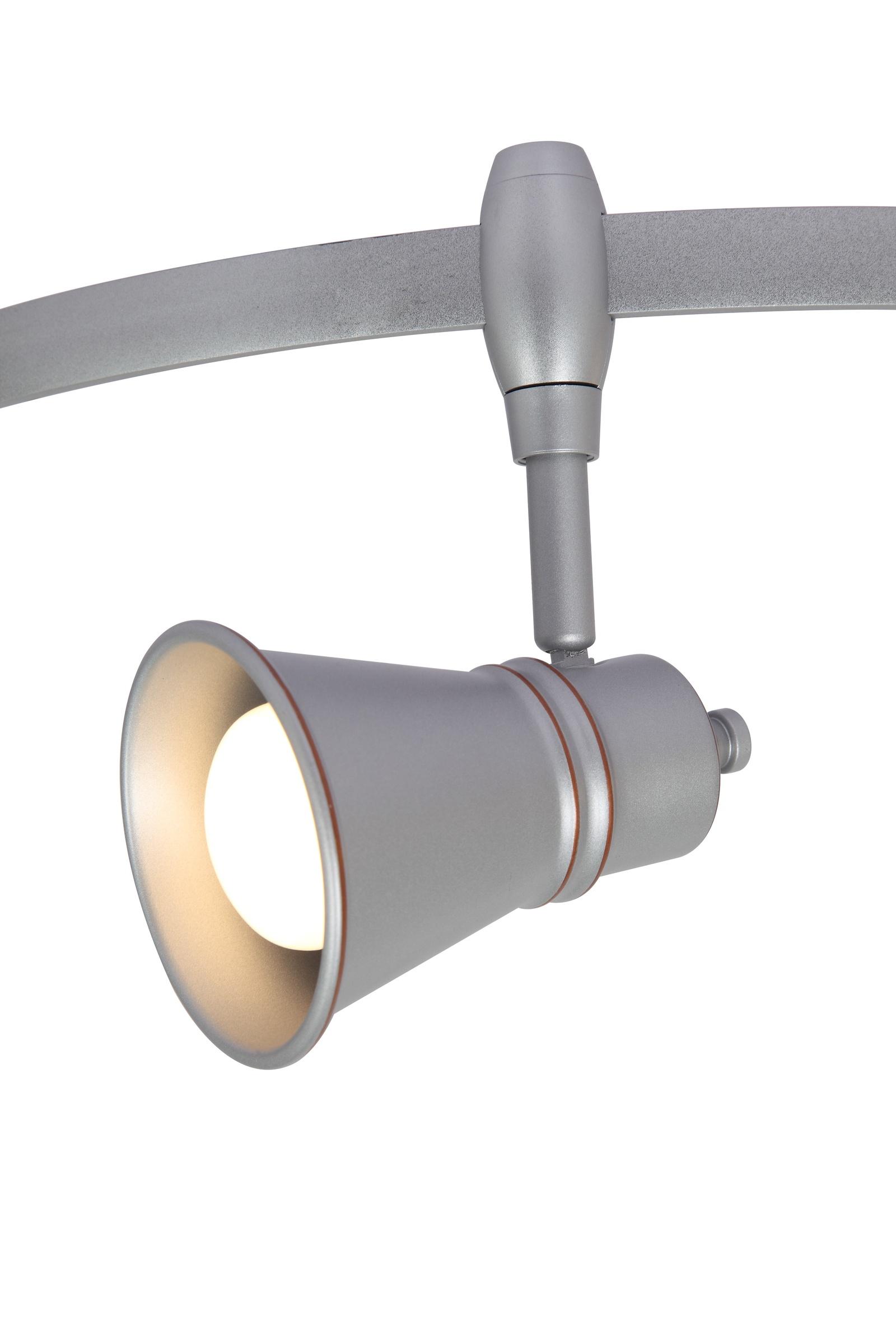 Настенно-потолочный светильник Arte Lamp A3057PL-1SI, E14, 40 Вт