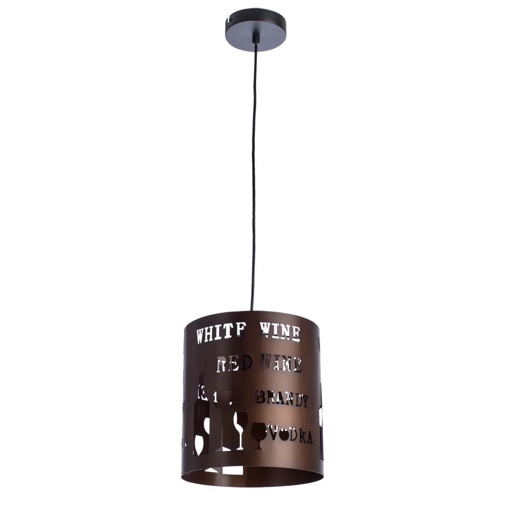 Подвесной светильник Arte Lamp A1223SP-1BR, E27, 60 Вт arte lamp подвесной светильник arte lamp galata a3030sp 1br