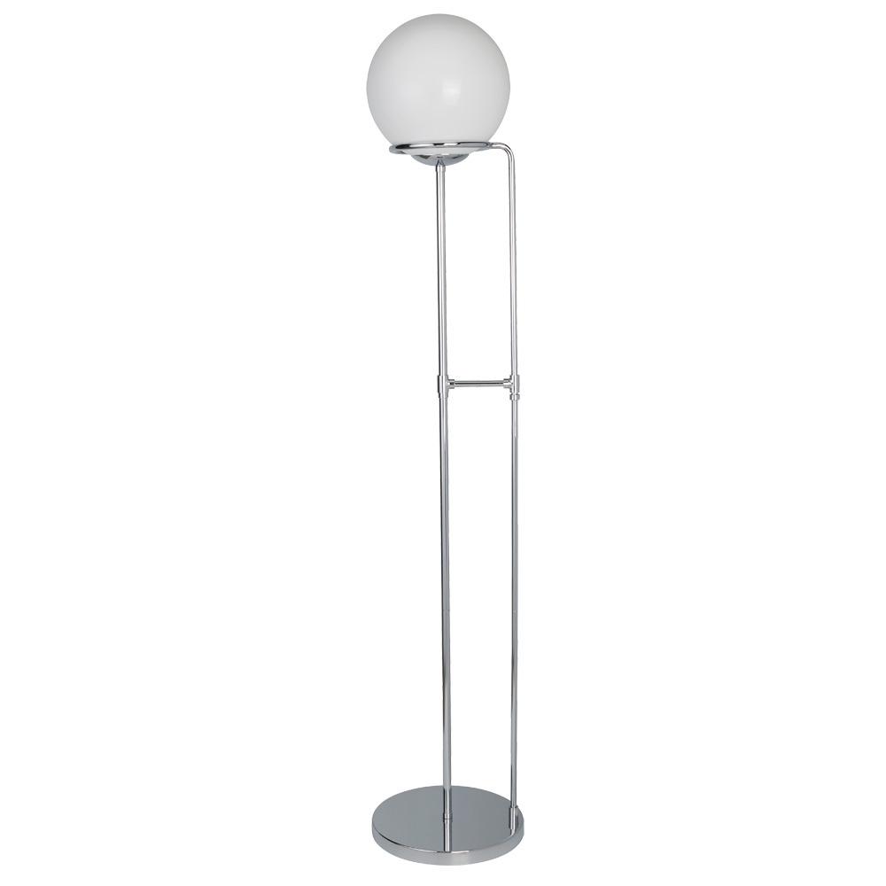 Напольный светильник Arte Lamp A2990PN-1CC, серый металлик arte lamp торшер a2250pn 1cc