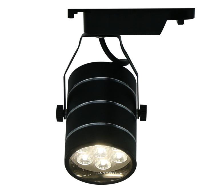 Настенно-потолочный светильник Arte Lamp A2707PL-1BK, LED, 7 Вт трековый светодиодный светильник arte lamp cinto a2707pl 1bk