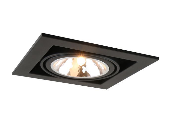 все цены на Встраиваемый светильник Arte Lamp A5949PL-1BK, G9, 40 Вт онлайн