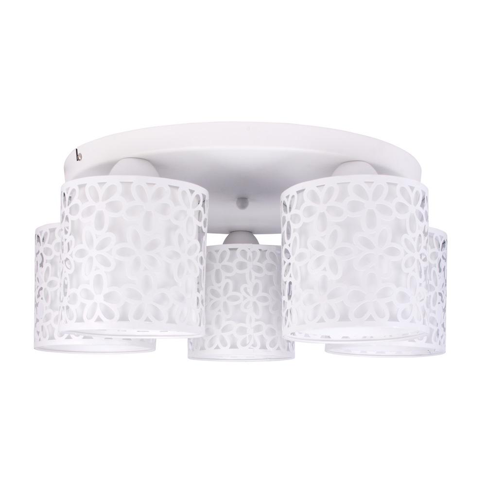 Потолочный светильник Arte Lamp A8349PL-5WH, E14, 40 Вт потолочный светильник arte lamp a8348pl 5wh белый