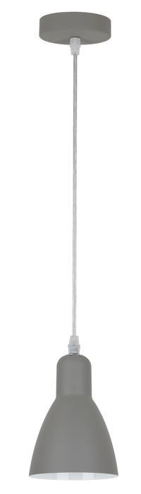 Подвесной светильник Arte Lamp A5049SP-1GY, серый скатерть quelle эго 1024295 120х150