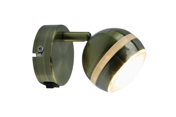 Настенно-потолочный светильник Arte Lamp A6009AP-1AB, LED, 5 Вт