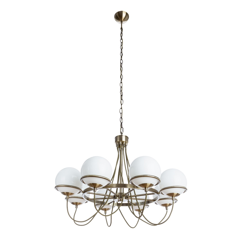 Подвесной светильник Arte Lamp A2990LM-8AB, E14, 40 Вт цена 2017