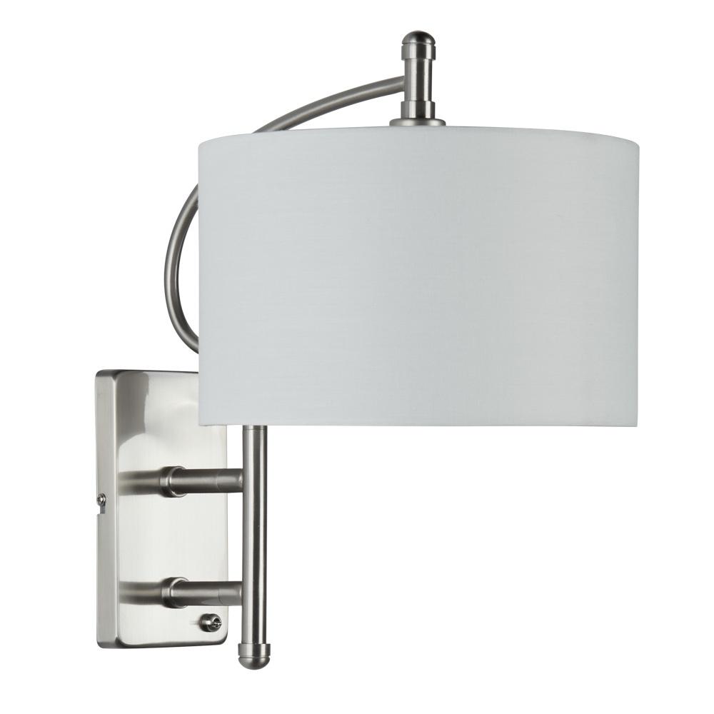 Бра Arte Lamp A2999AP-1SS, E14, 40 Вт