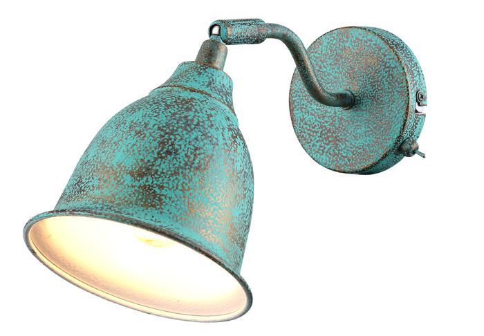 Настенно-потолочный светильник Arte Lamp A9557AP-1BG, E14, 40 Вт