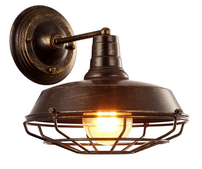 Бра Arte Lamp A9183AP-1BR, E27, 40 Вт цена