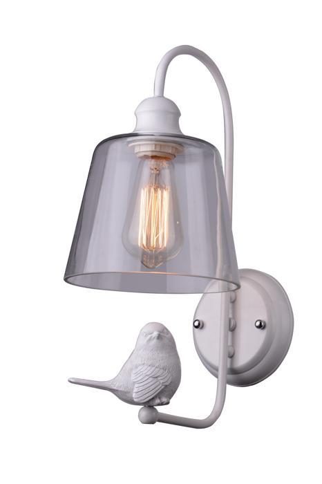 Бра Arte Lamp A4289AP-1WH, E27, 40 Вт