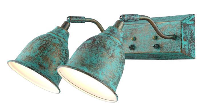 Настенно-потолочный светильник Arte Lamp A9557AP-2BG, E14, 40 Вт цены