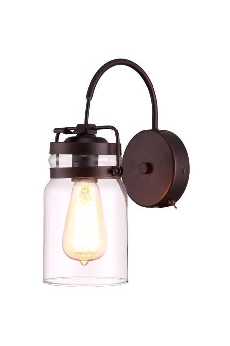 Бра Arte Lamp A9179AP-1CK, E27, 60 Вт