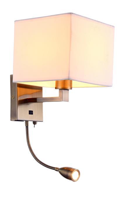 Бра Arte Lamp A9249AP-2AB, LED, 40 Вт