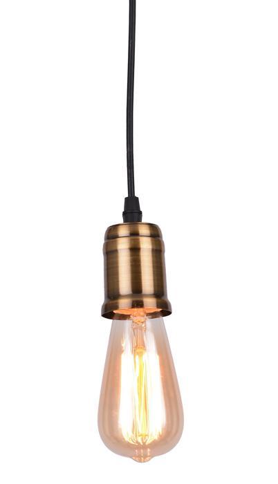 Подвесной светильник Arte Lamp A4290SP-1BK, E27, 40 Вт подвесной светильник arte lamp a9310lm 3wg e27 40 вт