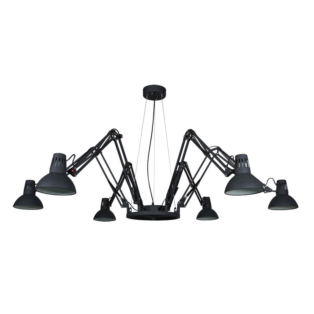 Фото - Подвесной светильник Arte Lamp A2043SP-6BK светильник подвесной arte lamp ragno цвет белый 16 х e27 40 w a2043sp 16wh