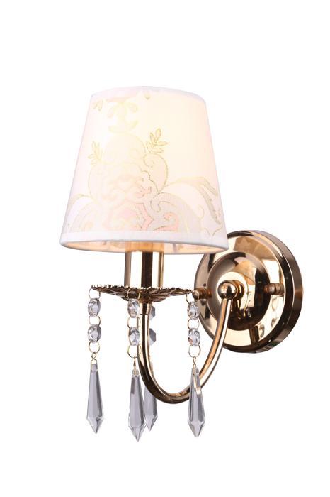 Бра Arte Lamp A5008AP-1GO, E14, 40 Вт