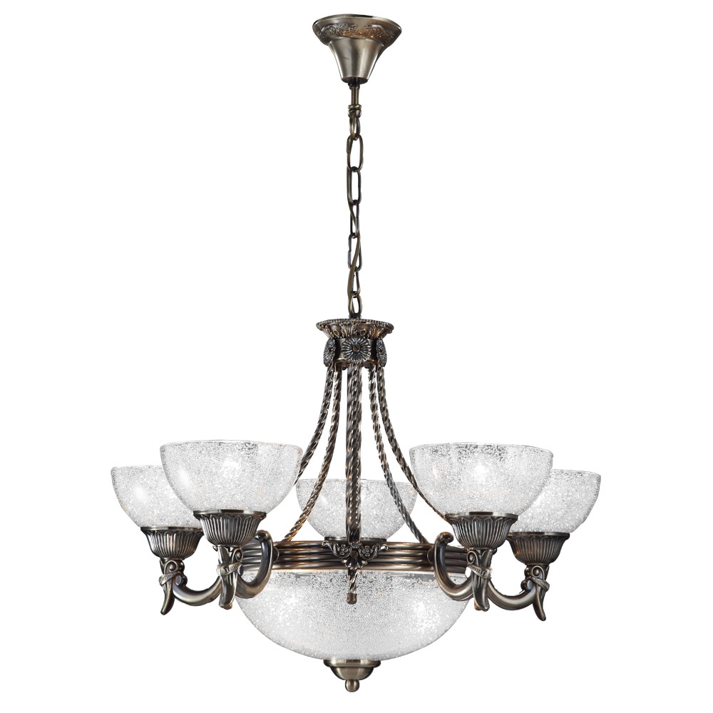 Подвесной светильник Arte Lamp A5861LM-3-5AB, бронза arte lamp подвесная люстра arte lamp fedelta a5861lm 3 5wg