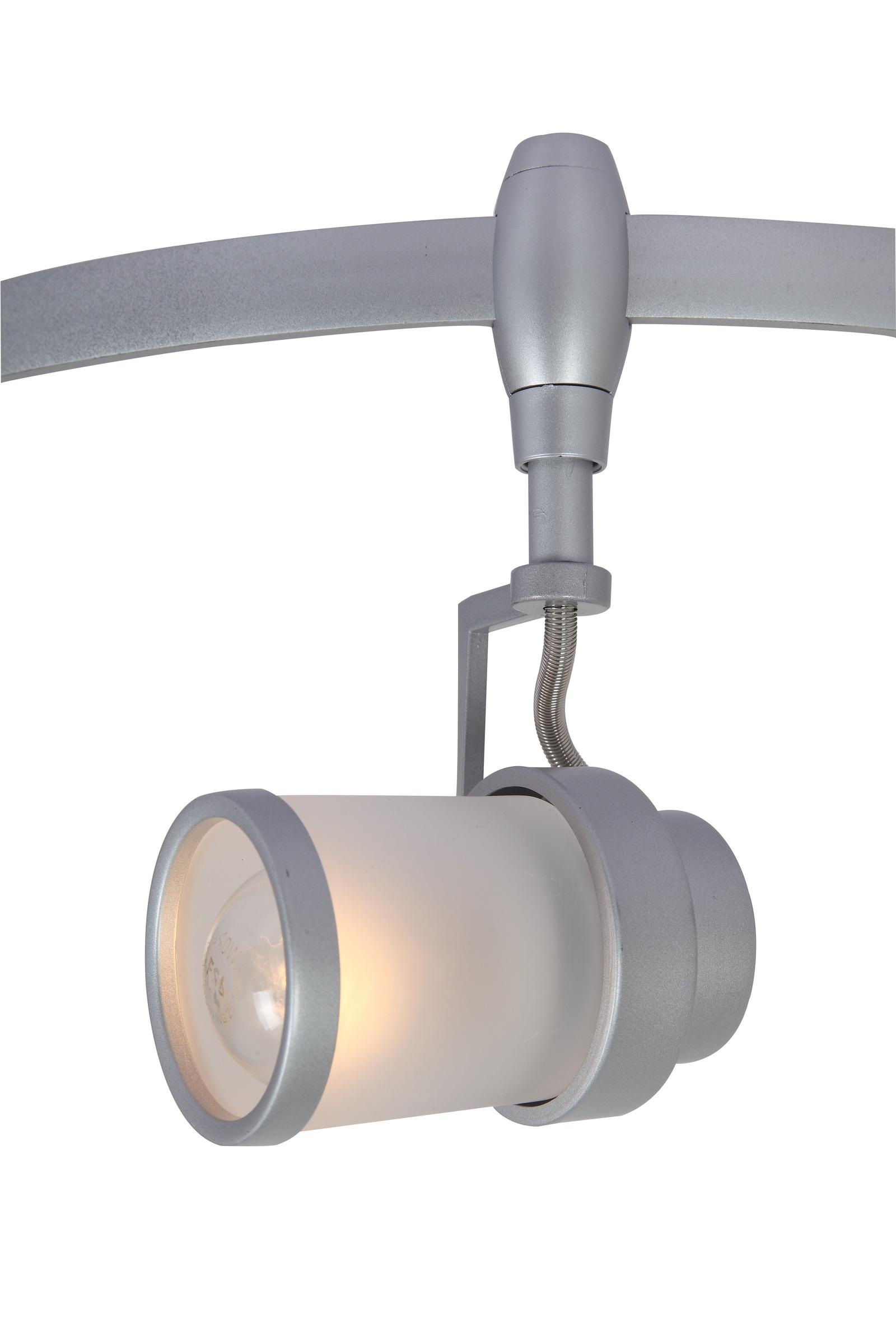 Настенно-потолочный светильник Arte Lamp A3056PL-1SI, E14, 40 Вт