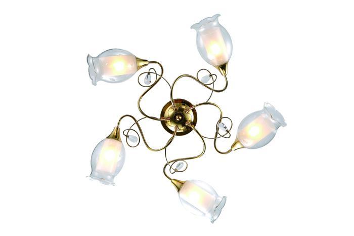 Потолочный светильник Arte Lamp A9289PL-5GO, E14, 40 Вт