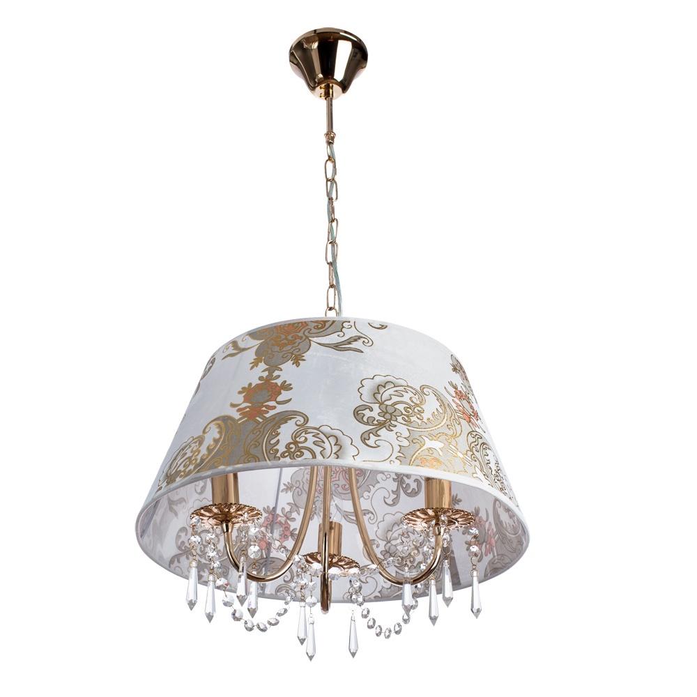 Подвесной светильник Arte Lamp A5008SP-3GO, E14, 40 Вт arte lamp люстра arte lamp a9205pl 3go