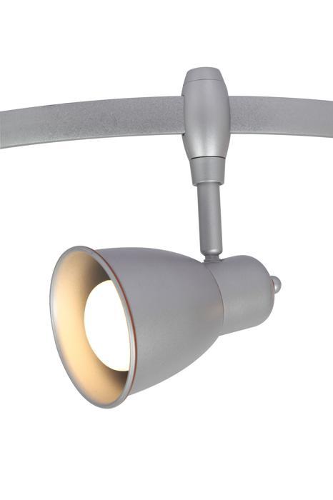 Настенно-потолочный светильник Arte Lamp A3058PL-1SI, E14, 40 Вт