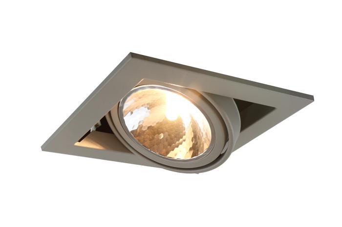 все цены на Встраиваемый светильник Arte Lamp A5949PL-1GY, G9, 40 Вт онлайн