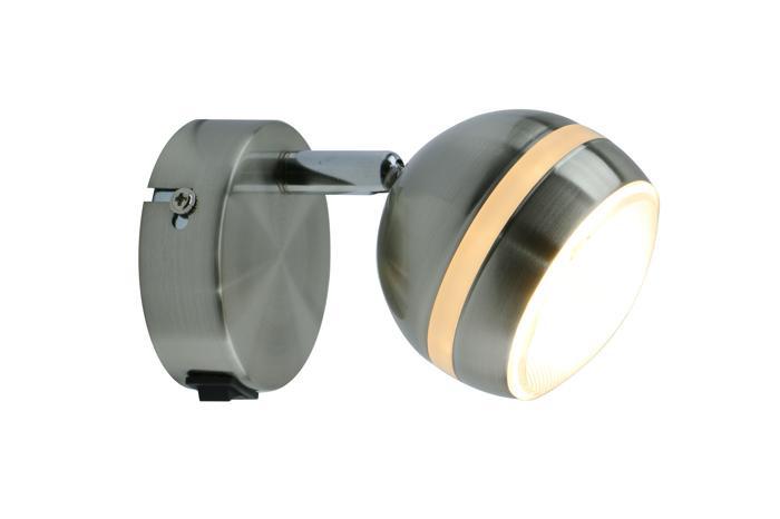 Настенно-потолочный светильник Arte Lamp A6009AP-1SS, LED, 5 Вт