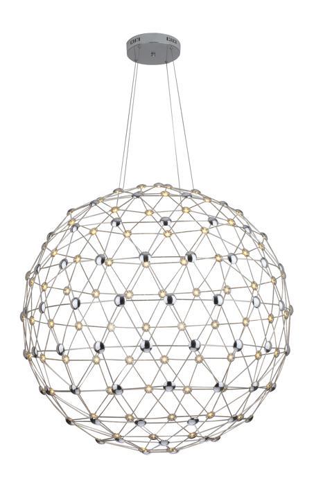 Подвесной светильник Divinare 1610/02 SP-140, серый металлик подвесной светильник divinare 1157 01 sp 2 серый металлик