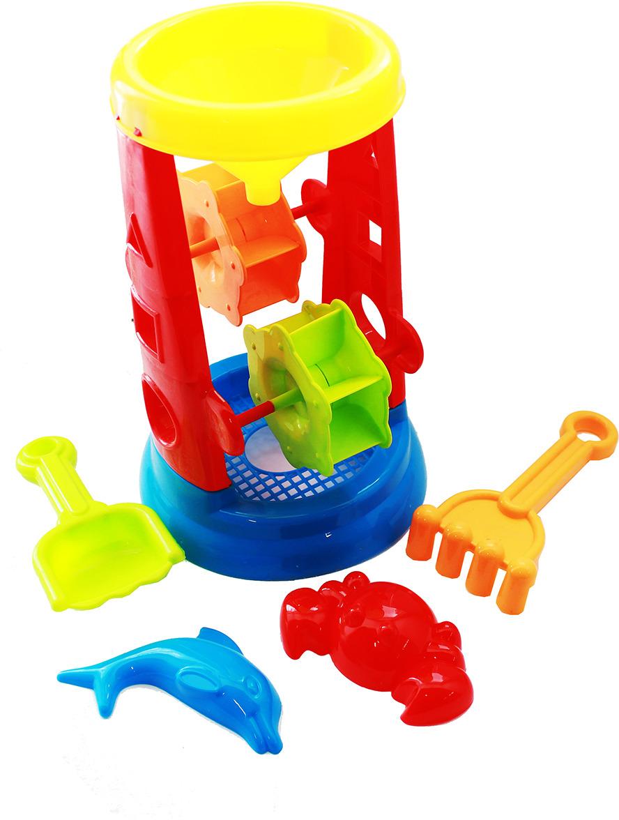 Игрушка для песочницы Песочный набор. Морской, 1581924, 5 предметов песочный набор нордпласт 128 5 предметов в ассортименте