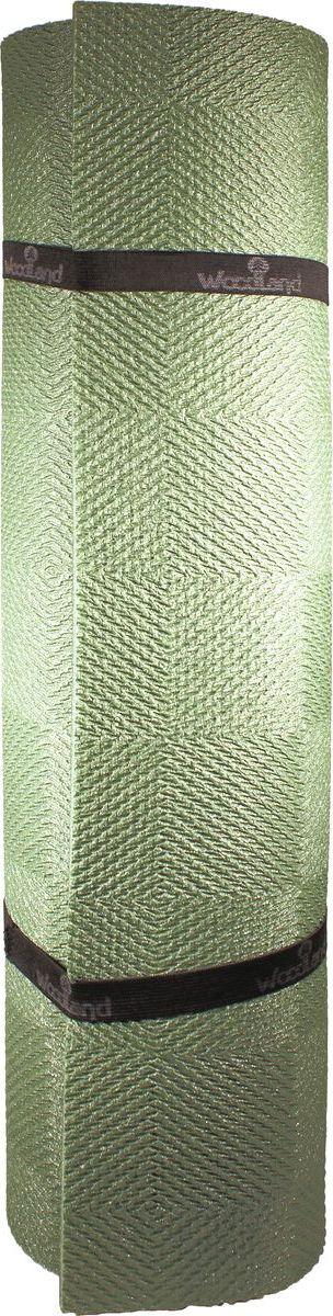 цена Коврик туристический WoodLand Hunter Soft 10, 71605, оливковый, 200 х 80 см онлайн в 2017 году