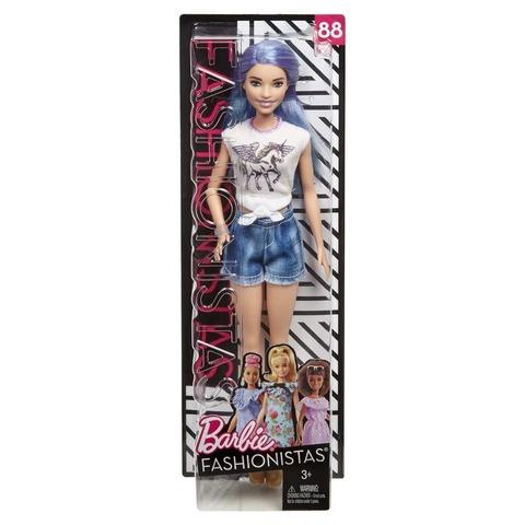Кукла Mattel Барби Игра с модой Фиолетовые волосы